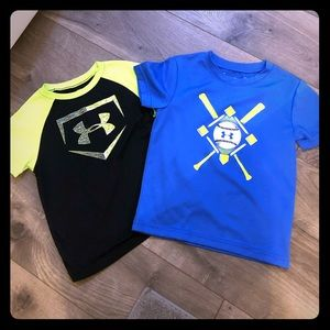 2 Under Armor T-shirt's